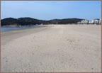 연포 모래 해변